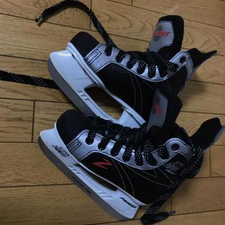 アイスホッケー スケート靴 21〜21.5(ウインタースポーツ)
