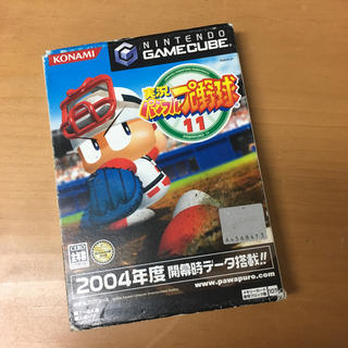 ニンテンドーゲームキューブ(ニンテンドーゲームキューブ)の実況パワフルプロ野球11 ニンテンドーゲームキューブ(家庭用ゲームソフト)