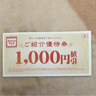 キタムラ(Kitamura)のスタジオマリオ  ご招待優待券(その他)