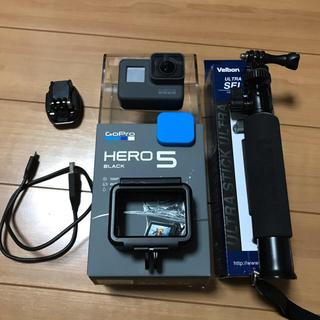 ゴープロ(GoPro)のGoPro hero5 Black CHDHX502 値下げしました。(コンパクトデジタルカメラ)