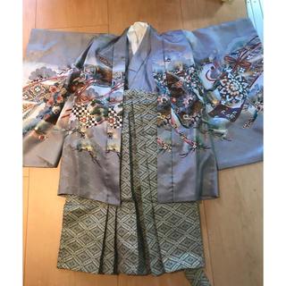 七五三 羽織袴セット 5歳男の子(和服/着物)