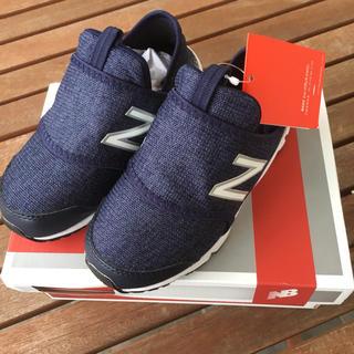 ニューバランス(New Balance)のニューバランス スリッポン ネイビー 15cm(スニーカー)