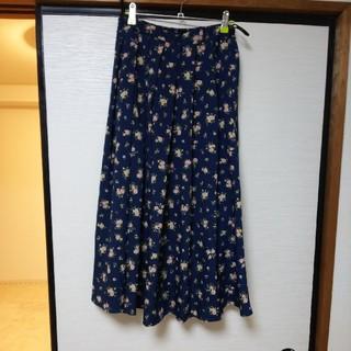 シネマクラブ(CINEMA CLUB)の花柄ロングスカート(ロングスカート)