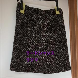 クードシャンス(COUP DE CHANCE)のクードシャンス ツイード スカート アンタイトル インディヴィ ワールド(ひざ丈スカート)