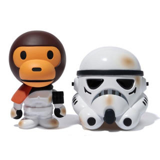A BATHING APE - BABY MILO x STAR WARS<SAND TROOPER>