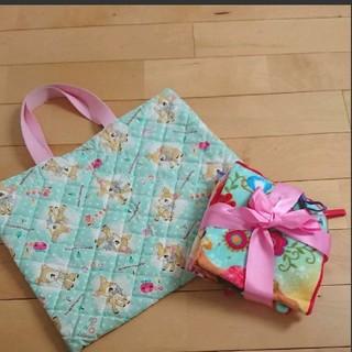 ディズニー(Disney)の通園かばん&ループタオルセット【女の子用】(通園バッグ)