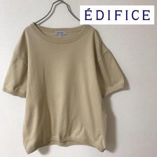 エディフィス(EDIFICE)の【casual】EDIFICE 半袖スウェット 40 良色(スウェット)