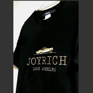 ジョイリッチ(JOYRICH)の♡【未使用】Sサイズ JOY RICH  ゴールドロゴTシャツ(Tシャツ(半袖/袖なし))