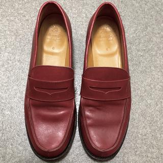 エシュン(HESCHUNG)のHESCHUNG エシュン フランス 本格レザー ローファー  (ローファー/革靴)