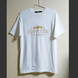 ジョイリッチ(JOYRICH)の【美品】Mサイズ JOY RICH   ゴールドロゴTシャツ(Tシャツ/カットソー(半袖/袖なし))