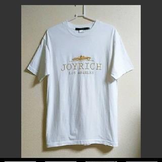 ジョイリッチ(JOYRICH)の♡【美品】Mサイズ JOY RICH   ゴールドロゴTシャツ(Tシャツ(半袖/袖なし))