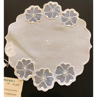 ヴァレンティノ(VALENTINO)の新品ヴァレンチノ◾️清楚な透かしレースのクロス・敷物(その他)