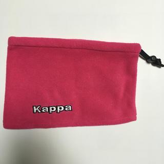 カッパ(Kappa)の【Kappa】ネックウォーマー ピンク色(ネックウォーマー)
