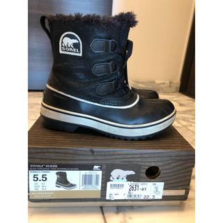 ソレル(SOREL)のスノーブーツ SOREL 22.5cm(ブーツ)