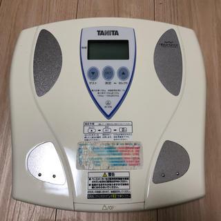 タニタ(TANITA)のタニタ 体脂肪計付き ヘルスメーター 体重計 体脂肪計(体重計/体脂肪計)
