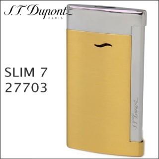 エステーデュポン(S.T. Dupont)の未使用 デュポン スリム7 27703 ライター(タバコグッズ)