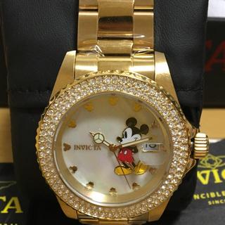 ディズニー(Disney)のディズニー 希少 腕時計ゴールド(腕時計(アナログ))