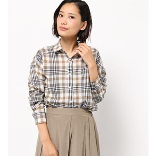 カリテ(qualite)のカリテ チェックシャツ(シャツ/ブラウス(長袖/七分))