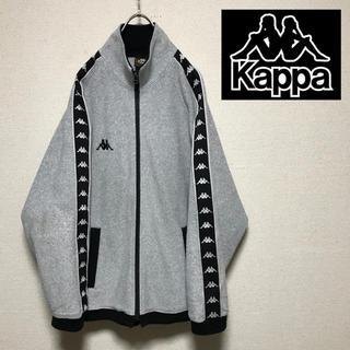 カッパ(Kappa)のヴィンテージ  kappa カッパ ロゴテープ フリースジャケット(ブルゾン)
