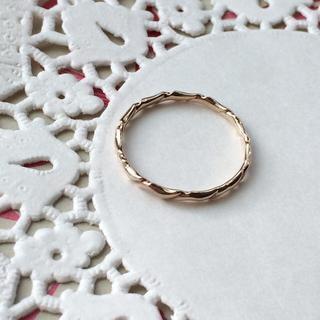 アガット(agete)のアガット K10リング(リング(指輪))