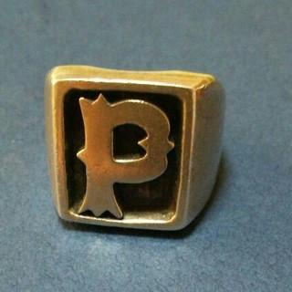 『DEPT(デプト)イニシャル『P』リング』リング指輪 シルバー