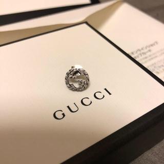 グッチ(Gucci)のGUCCI インターロッキングGピアス 片耳(ピアス(片耳用))