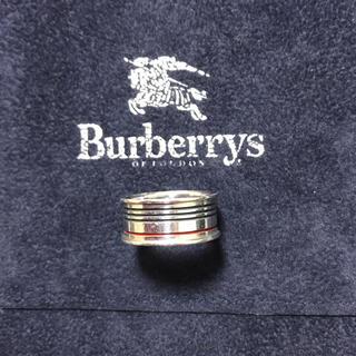 バーバリー(BURBERRY)のバーバリー シルバーリング(リング(指輪))
