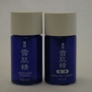 セッキセイ(雪肌精)の化粧水+乳液 Sサンプルセット コーセー雪肌精 (サンプル/トライアルキット)