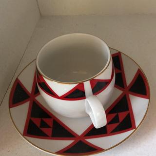 サンゴ(sango)の昭和レトロ 70年代 カップソーサー (未使用品) sango(グラス/カップ)