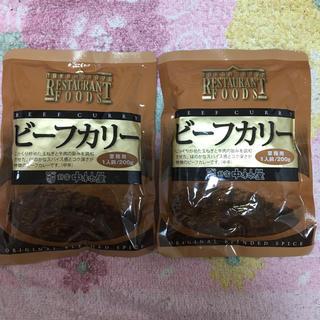 ナカムラヤ(中村屋)の新宿中村屋 ビーフカリー 2袋 たっぷり満足(レトルト食品)