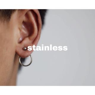 コス(COS)の257.import stainless back circle pierce(ピアス)