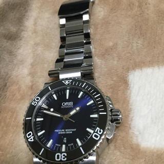 オリス(ORIS)のオリス アクイス デイト 7653 超美品(腕時計(アナログ))