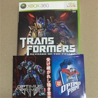 エックスボックス360(Xbox360)のおまけ付き TRANSFORMERS REVENGE OF THE FALLEN(家庭用ゲームソフト)
