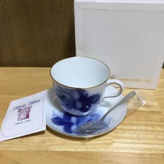 オオクラトウエン(大倉陶園)の大倉陶園 コーヒーカップ ブルーローズ(食器)
