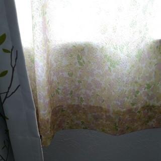ベルメゾン - ベルメゾン UVカット 遮像カーテン 100×133(2枚)