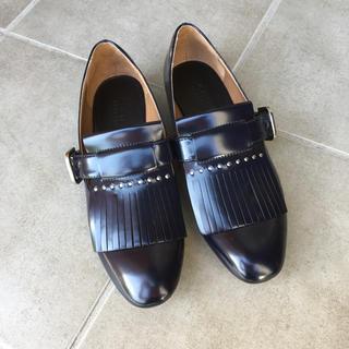ザラ(ZARA)の美品 ZARA ローファー37 (ローファー/革靴)