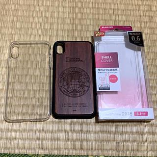 シュピゲン(Spigen)のiPhoneXRケース  3点セット(iPhoneケース)