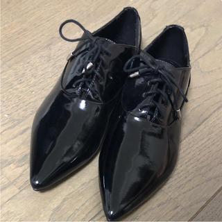 ザラ(ZARA)のレースアップシューズ(ローファー/革靴)