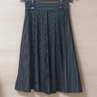 シマムラ(しまむら)のしまむら ストライプ スカート Mサイズ(ひざ丈スカート)