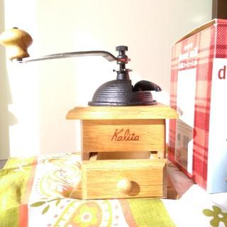 カリタ(CARITA)のコーヒーミル 手動(コーヒーメーカー)