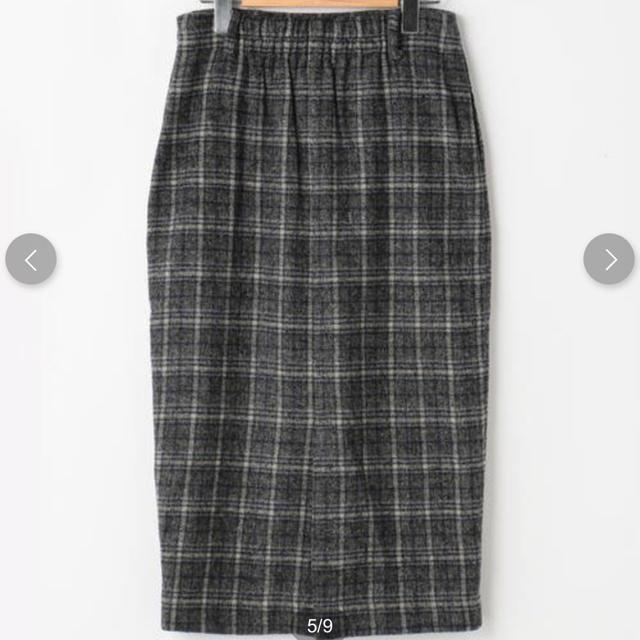 RayCassin(レイカズン)のチェックタイトスカート レディースのスカート(ロングスカート)の商品写真