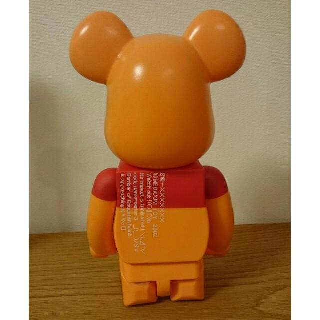 MEDICOM TOY(メディコムトイ)のベアブリック くまのプーさん 400% BE@RBRICK エンタメ/ホビーのおもちゃ/ぬいぐるみ(キャラクターグッズ)の商品写真