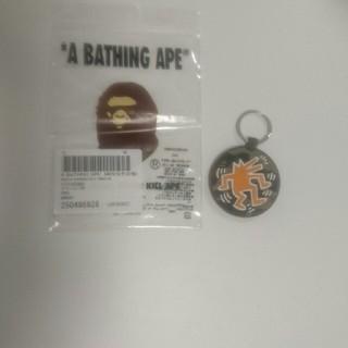 アベイシングエイプ(A BATHING APE)のキーホルダー(キーホルダー)