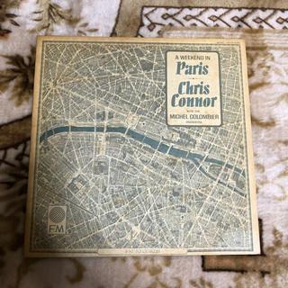 chris connor  レコード  パリの週末(ジャズ)