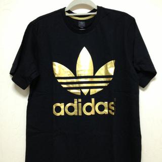 アディダス(adidas)の☆adidas  黒×金☆(Tシャツ(半袖/袖なし))