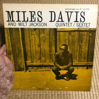 miles davis   milt jackson  レコード(ジャズ)