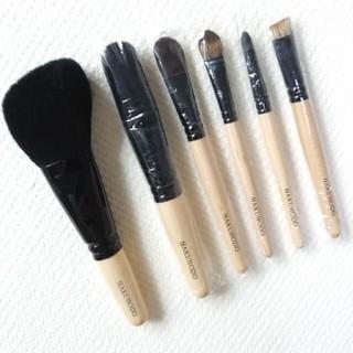 ハクホウドウ(白鳳堂)の新品 白鳳堂 6本セット hakuhodo メイクブラシ 化粧筆(その他)