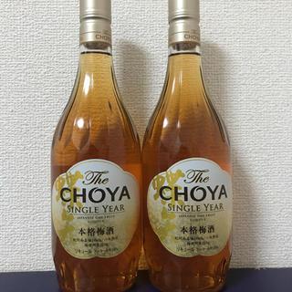 チョーヤ 梅酒 The CHOYA SINGLE YEAR(リキュール/果実酒)