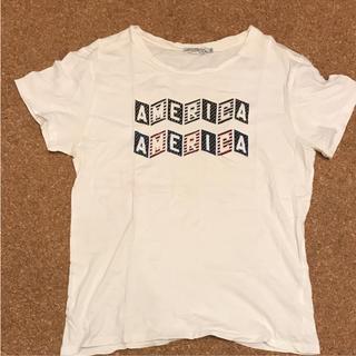 キツネ(KITSUNE)のキツネ  Tシャツ  XS(Tシャツ/カットソー(半袖/袖なし))
