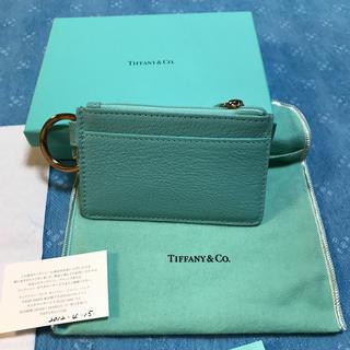 ティファニー(Tiffany & Co.)のTIFFANY&CO. キーカードケース 【新品】 (コインケース)